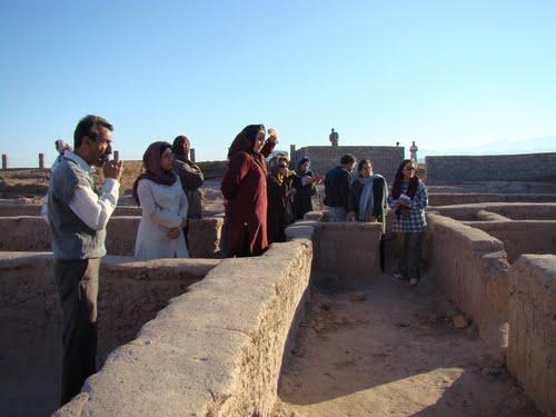 حضور گردشگران خارجی در شهر کوتوله های شهداد