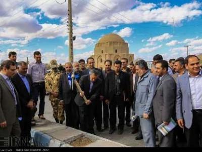 عملیات اجرایی تقاطع غیر همسطح جبلیه در کرمان آغاز شد