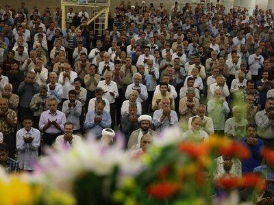 گزارش تصویری نماز عید قربان در کرمان