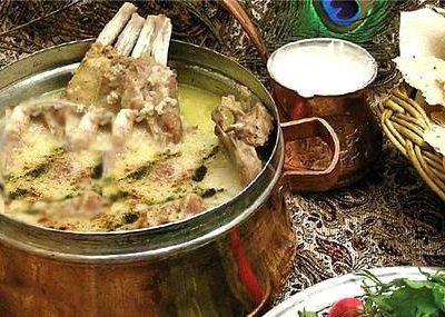 طرز تهیه آبگوشت کشک و بادمجان کرمان